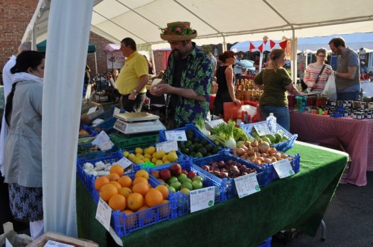 Vegetropolis at Stirchley Community Market