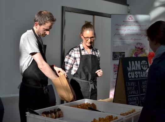 Jam vs Custard doughnuts