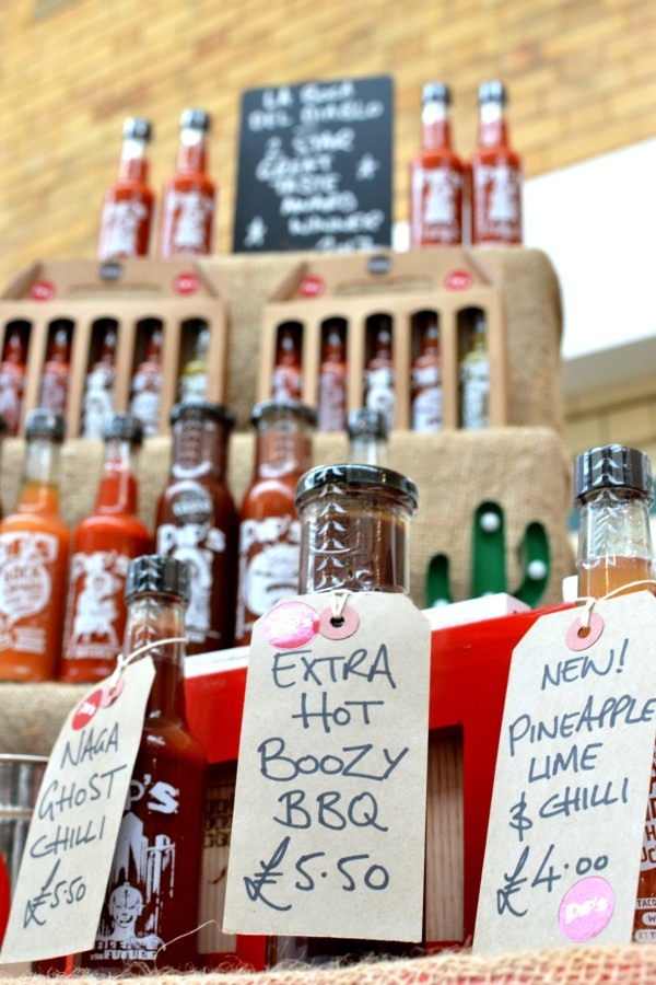 A selection of bottles from Pip's Hot Sauce