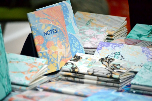 Notebooks with decorative printed covers