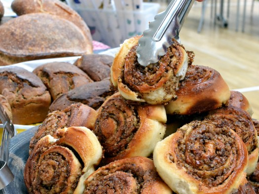 Coffee and pecan buns from Loaf