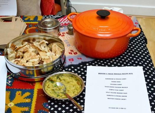 Spice kits from Mohini Howard