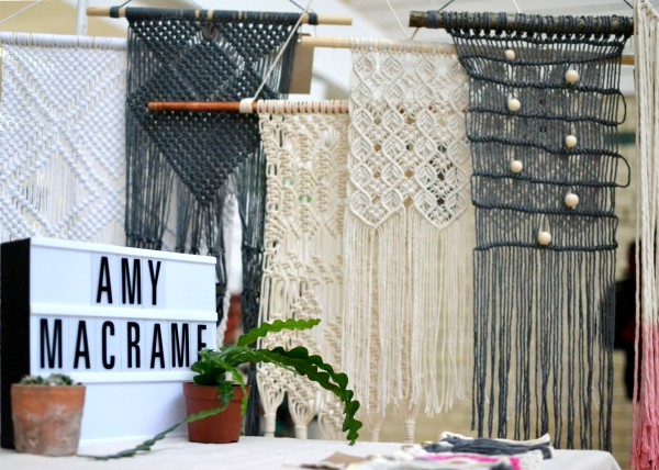 A range of craft products from Amy Macramé
