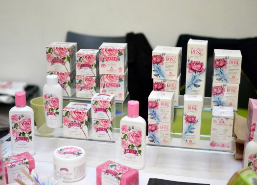 Beauty products from Bulgarian Rose