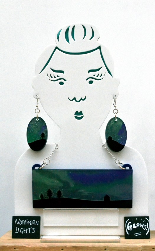 """Northern Lights"" jewellery"