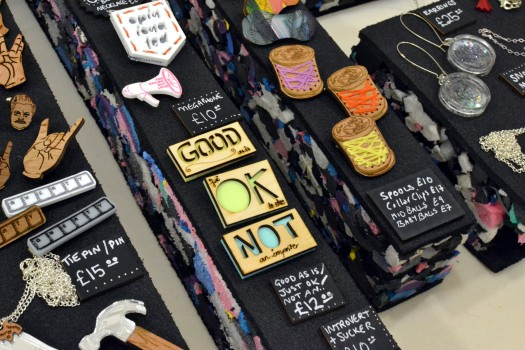 Some of the jewellery for sale from Frilly Industries