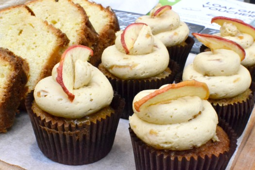 Toffee apple cupcakes from Loaf