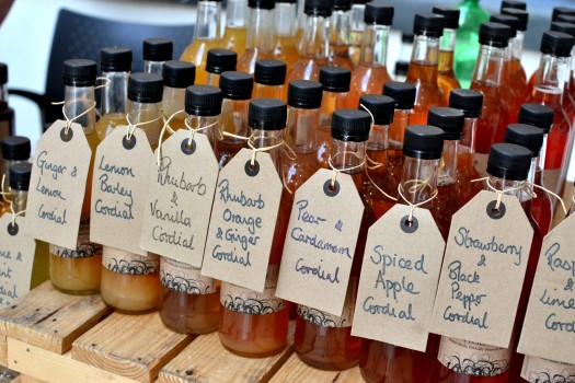 Drinks for a summer's day from Cuffufle Preserves
