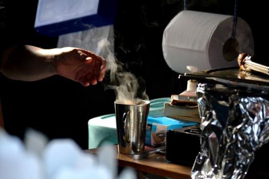 Steaming hot at Greshko Bodhi