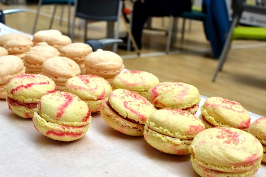 Macarons from Loaf Community Bakery