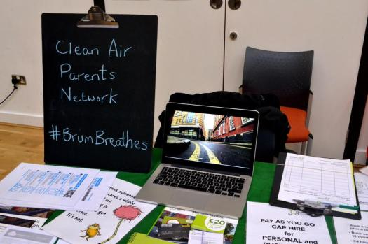 Co-Wheels Car Club promoting clean air and transport