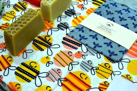 Beeswax wraps from Let It Bee: reducing our dependence on plastic