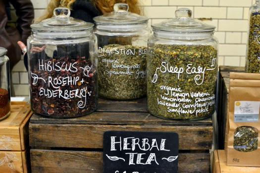 Herbal tea from Queen of Camellias