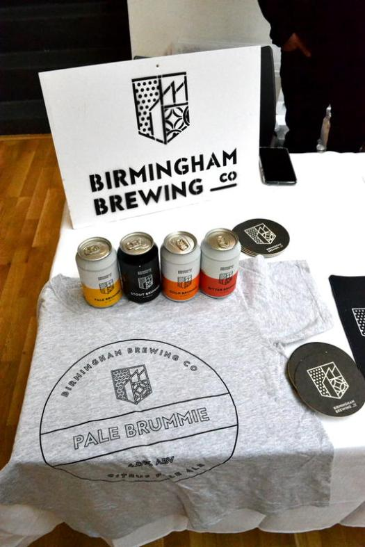 Beer and T-shirts from Birmingham Brewing Company