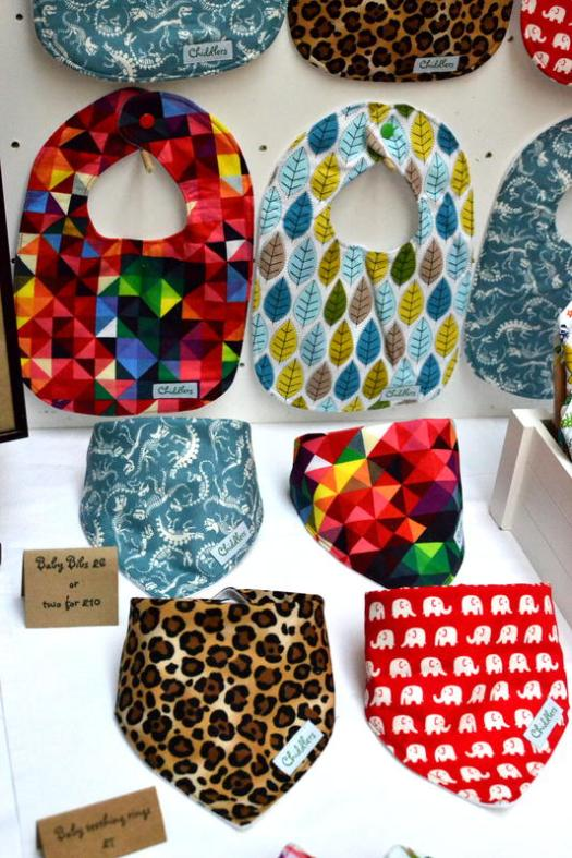 Baby bibs from Chiddlers Boutique