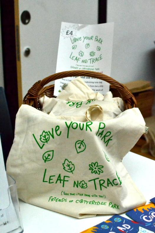 Love Your Park tote bag at the CoCoMAD stall