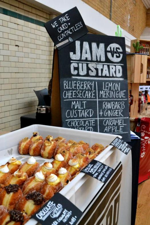 Fabulous doughnut flavours from Jam vs Custard