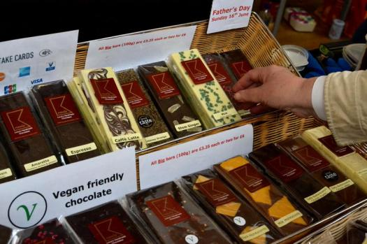 A range of chocolate from Kneals Chocolates