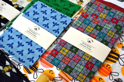 Beeswax wraps from Let It Bee