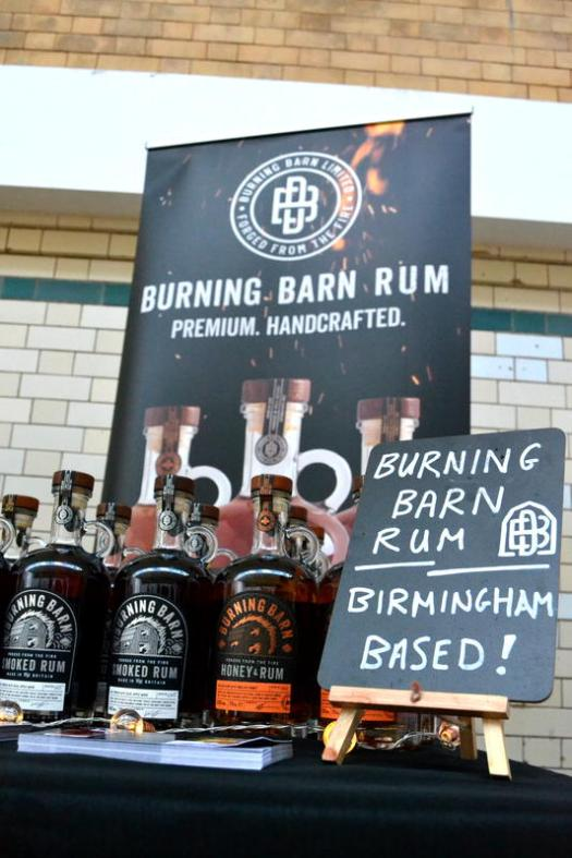 Birmingham based Burning Barn Rum