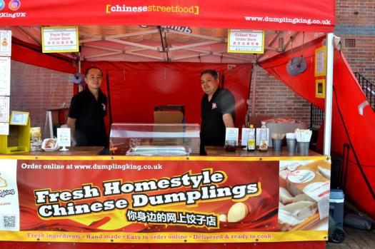 Ray and Tony are ready to serve up Chinese treats from Dumpling King