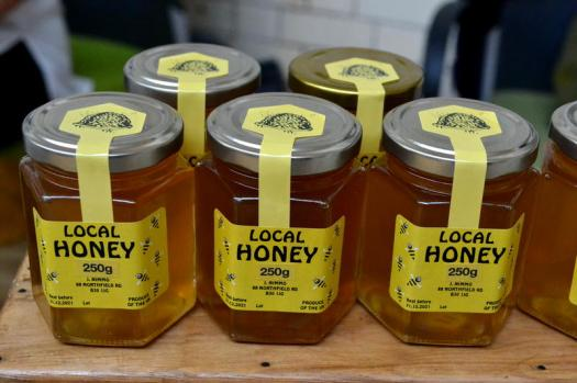 Local honey (all the way from Bournville!) from Let It Bee