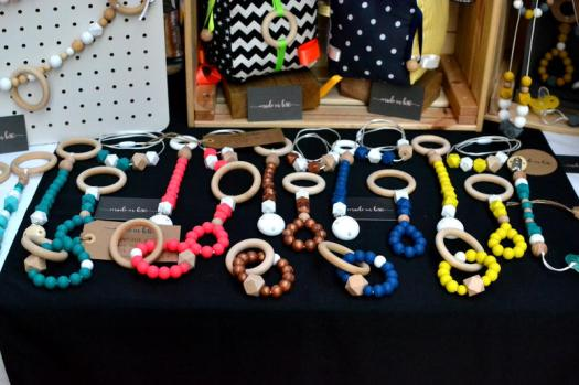 Colourful teething rings from Made in B30
