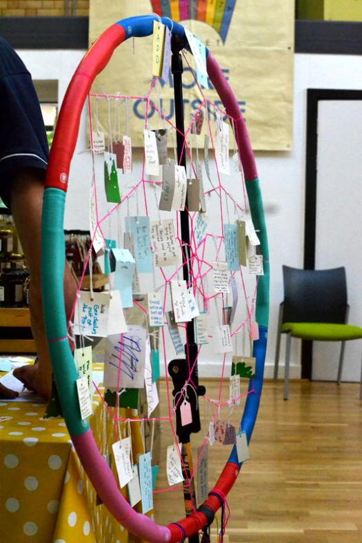 The Stirchley Dreamcatcher: collecting ideas for improving the area